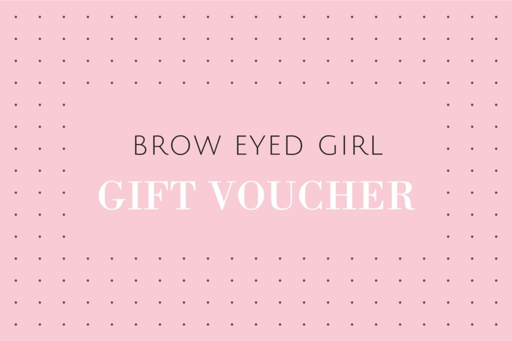 Brow Eyed Girl Gift Card